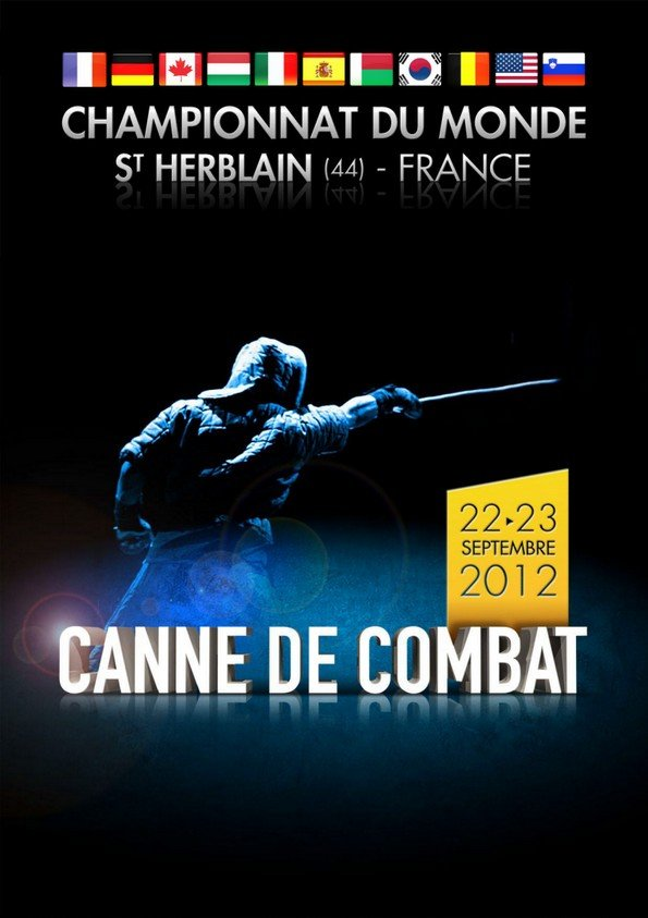 Championnat du Monde de canne de combat à Saint-Herblain (09-2012)