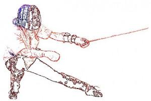 Le 19-11-2011 - De la Canne aux Championnats du Monde de Savate B.F. dans Animations Fente-arri%C3%A8re-crayon-couleur-canne-%C3%A0-droite-300x201