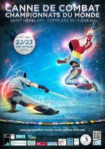 Championnat du monde 2012 de Canne de Combat - Cane of Fight World Championship 2012 - Cane Kämpfen World Championship 2012 dans Canne de Combat Affiche_championnat_monde_2012_A3_BD-2-212x300