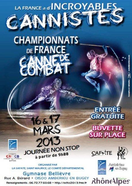 16 et 17 mars 2013 - Championnat de France de Canne de Combat dans Canne cannedecombat-244d5
